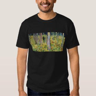 Van Gogh - maleza con dos figuras Playeras