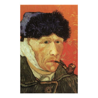 Van Gogh - Man With Pipe Stationery