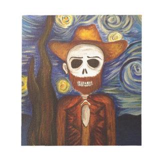 Van Gogh maravillosamente muerto Blocs De Papel