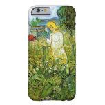 Van Gogh; Margarita Gachet en el jardín, arte del Funda Barely There iPhone 6