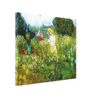 Van Gogh Margarita Gachet en el jardín arte del Lona Estirada Galerias