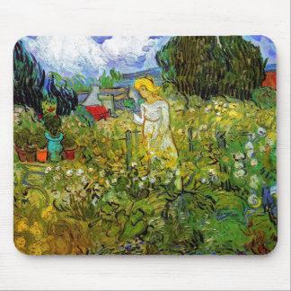 Van Gogh - margarita Gachet en el jardín Tapete De Ratón