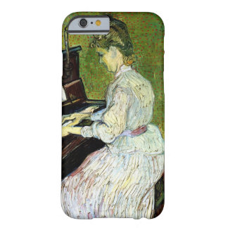 Van Gogh; Marguerite Gachet at Piano, Vintage Art Barely There iPhone 6 Case