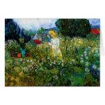 Van Gogh Marguerite Gachet in Garden (F756) Greeting Cards
