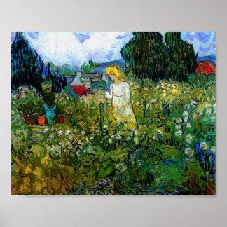 Van Gogh Marguerite Gachet in Garden (F756) Print