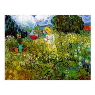 Van Gogh - Marguerite Gachet In The Garden Postcards