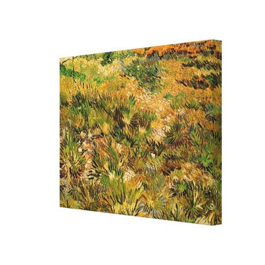 Van Gogh Meadow in the Garden, Saint Paul Hospital Canvas Print