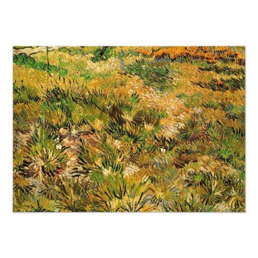 Van Gogh Meadow in the Garden, Saint Paul Hospital Card