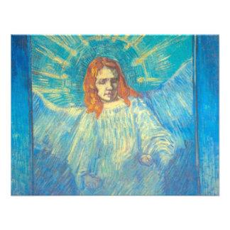 Van Gogh Media figura de un ángel arte del vinta Anuncios