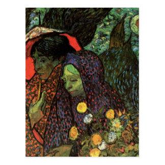 Van Gogh; Memoria del jardín, Etten, arte del vint Tarjetas Postales