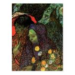 Van Gogh; Memory of the Garden, Etten, Vintage Art Postcards