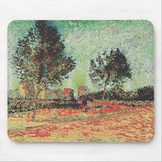 Van Gogh modificado Alfombrillas De Raton