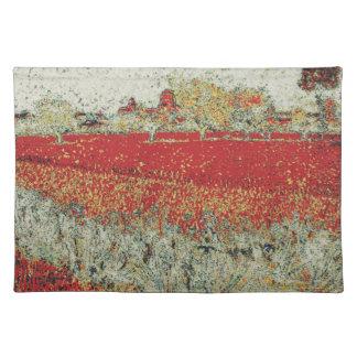 Van Gogh modificado - arles Manteles Individuales