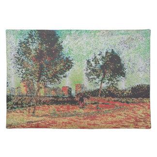 Van Gogh modificado Mantel Individual