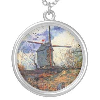 Van Gogh - molino de viento de Galette del La de Colgante Redondo