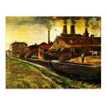 Van Gogh; Molino del hierro en La Haya, negocio de Tarjetas Postales