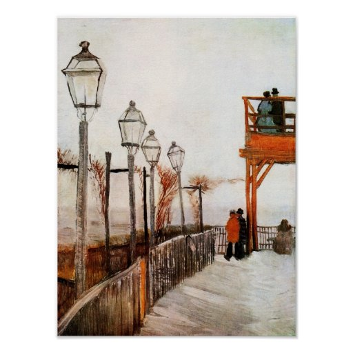 Van Gogh Montmartre (F272) Fine Art Print