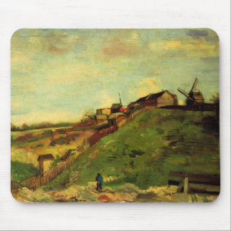 Van Gogh Montmartre: Quarry, the Mills, Fine Art Mouse Pad