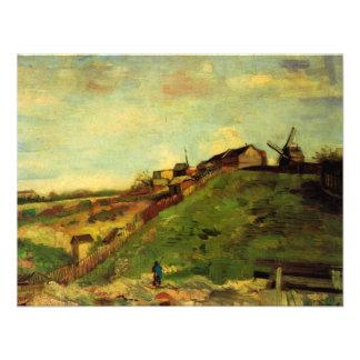 Van Gogh; Montmartre: Quarry, the Mills Invitation