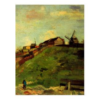 Van Gogh; Montmartre: Quarry, the Mills Postcard