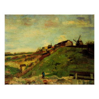 Van Gogh; Montmartre: Quarry, the Mills Posters