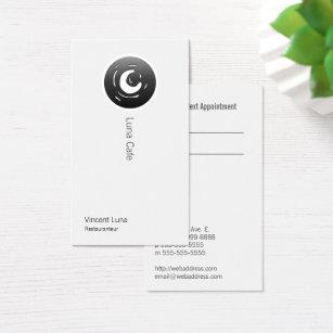 Moon business cards templates zazzle van gogh moon button business card colourmoves Images