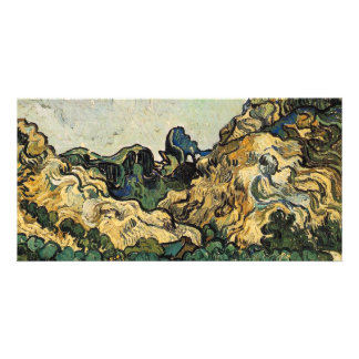 VAN GOGH - MOUNTAINS AT SAINT-REMY CARD