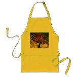 Van Gogh Mulberry Tree (F637) Fine Art Adult Apron