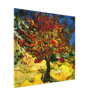 Van Gogh Mulberry Tree (F637) Fine Art Canvas Prints