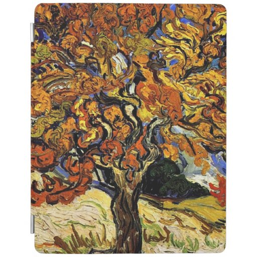 Van Gogh - Mulberry Tree, famous fine art painting iPad Smart Cover