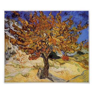 Van Gogh - Mulberry Tree Poster