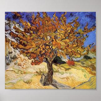 Van Gogh - Mulberry Tree Print