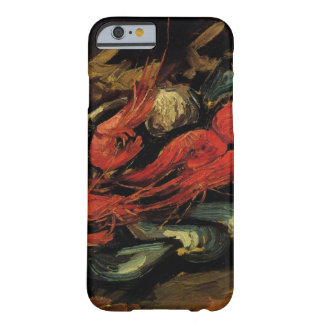 Van Gogh, Mussels and Shrimp, Vintage Still Life Barely There iPhone 6 Case