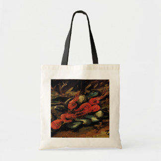Van Gogh, Mussels and Shrimp, Vintage Still Life Tote Bag