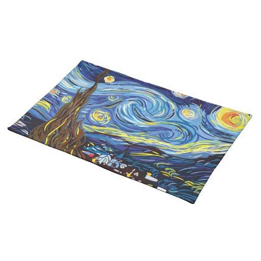 Van Gogh napkin Placemat