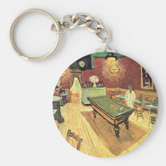 Van Gogh Night Cafe in the Place Lamartine, Arles Keychain