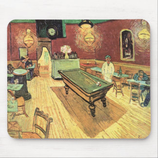 Van Gogh Night Cafe in the Place Lamartine, Arles Mouse Pad