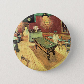 Van Gogh Night Cafe in the Place Lamartine, Arles Pinback Button