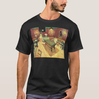 Van Gogh Night Cafe in the Place Lamartine, Arles T-Shirt