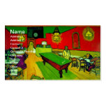 Van Gogh Night Cafe Place Lamartine (F463) Business Cards