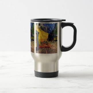 Van Gogh Night Cafe Terrace on the Place du Forum 15 Oz Stainless Steel Travel Mug