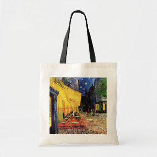 Van Gogh Night Cafe Terrace on the Place du Forum Budget Tote Bag