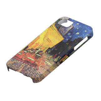 Van Gogh Night Cafe Terrace on the Place du Forum iPhone 5 Cover