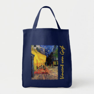 Van Gogh Night Cafe Terrace on the Place du Forum Grocery Tote Bag