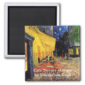 Van Gogh Night Cafe Terrace on the Place du Forum Magnet