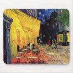 Van Gogh Night Cafe Terrace on the Place du Forum Mouse Pad