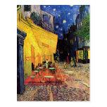 Van Gogh Night Cafe Terrace on the Place du Forum Post Card