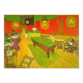 Van Gogh Night Cafe, Vintage Fine Art Card