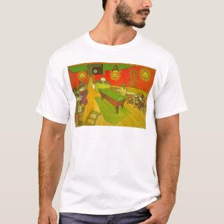 Van Gogh Night Cafe, Vintage Fine Art T-Shirt