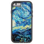 Van Gogh - noche estrellada Funda De iPhone 6 Tough Xtreme